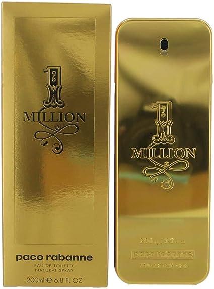 1 Million by Paco Rabanne Men's Eau De Toilette Spray 6.7 oz 100% Authentic by Paco Rabanne