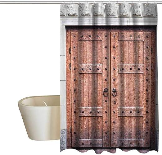 Columna de ducha rustica