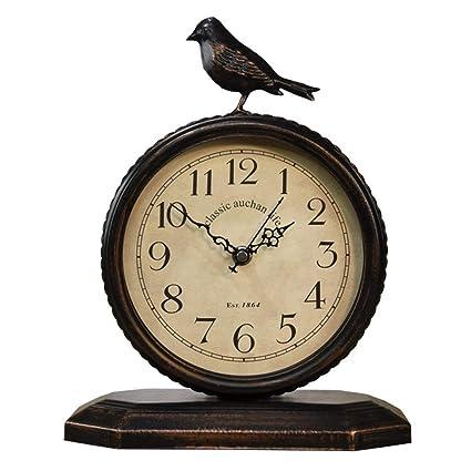 LYM $ Reloj Despertador Digital Relojes de Mesa para la Sala de Estar Decoración Relojes de