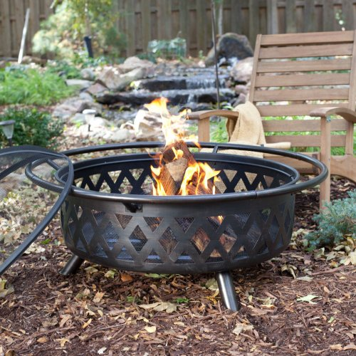 Red Ember Red Ember Durango Extra Large 34 in. Bronze Fire Pit with Cover, Steel