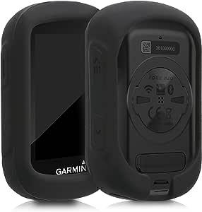 kwmobile Funda Compatible con Garmin Edge 130/130 Plus - Carcasa de Silicona para GPS - Cover en Negro