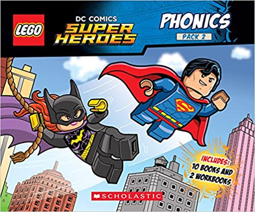 Phonics Boxed Set #2 (Lego DC Super Heroes) (Lego DC Comics Super Heroes K-1st - Reading Level Grade 1)
