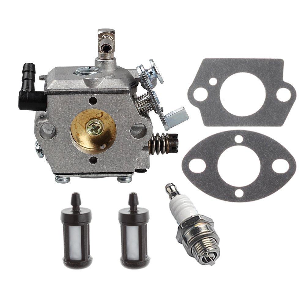 HIPA Carburetor with Fuel Filter Spark Plug for STIHL 028 028AV 028 Super Chainsaw