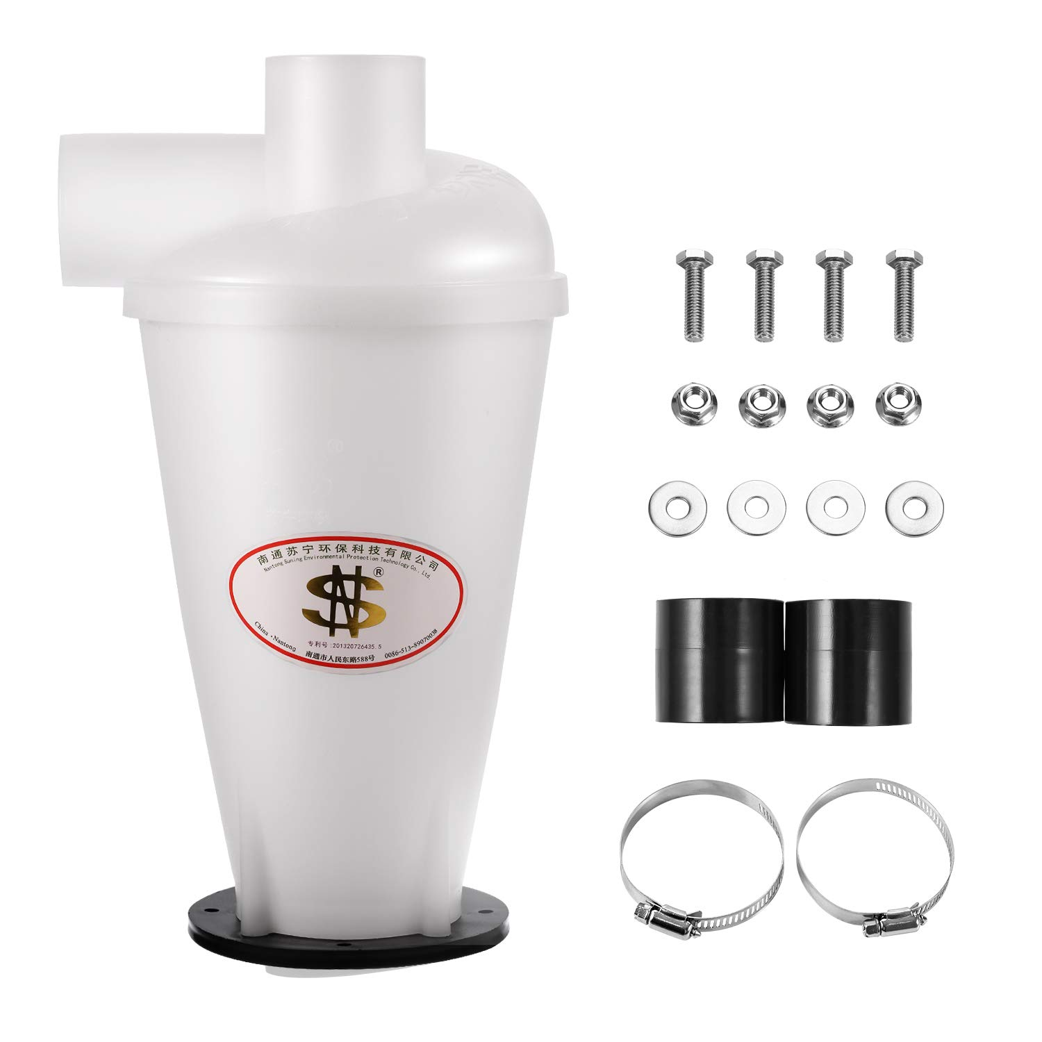 Dust Separator Collector Connect Household Cyclone Vacuums Cleaners Filter New