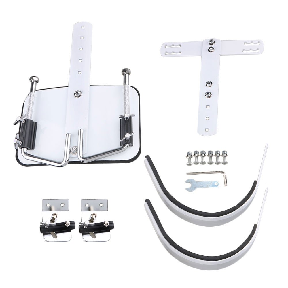 lovermusic White Percussion Parts Marching Snare Drum Carrier Shoulder Harness