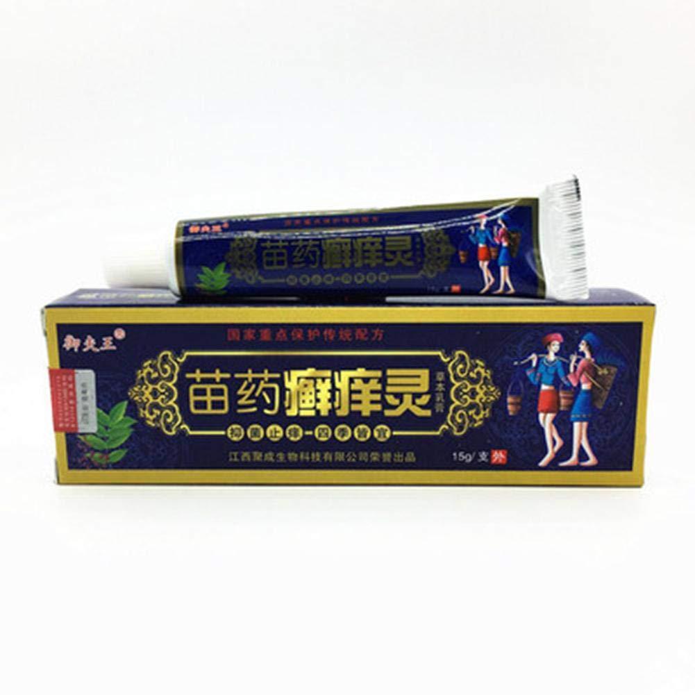 Unguento cinese Anti-Inching Eczema Crema da massaggio, dermatiti ed eruzioni Prurito Psoriasi Pelli Problemi, Psoriasi, Eczema Crema Unguento Antiprurito SAWEY