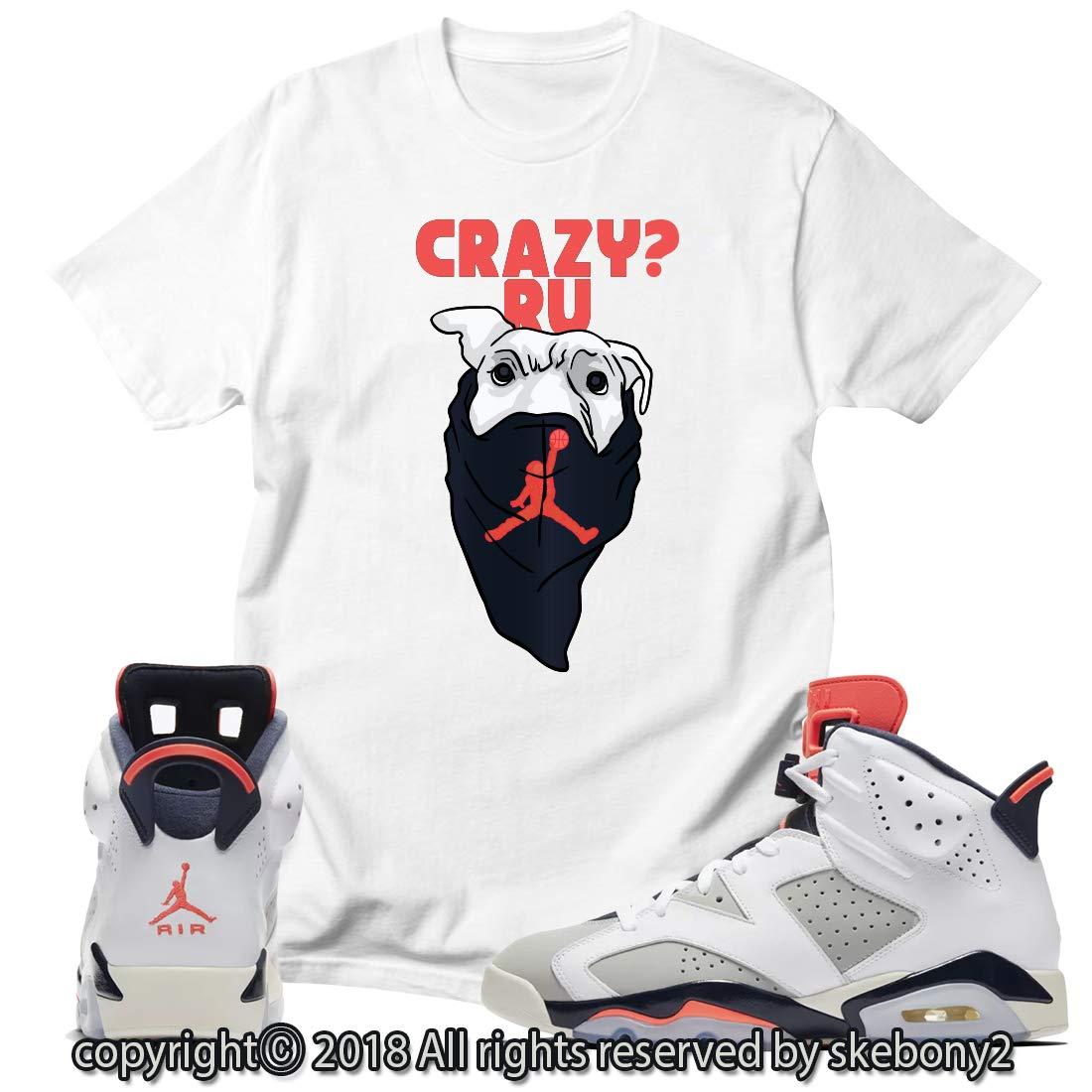 c48f939258b Custom shirt matching style of air jordan infrared tinker at amazon mens  clothing store jpg 1100x1100
