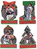 2001 Pacific Ornaments - ATLANTA BRAVES Team Set