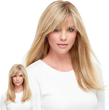 Peluca Blonde Mujer Nueva hembra Cabello Rizado degradado oro ...