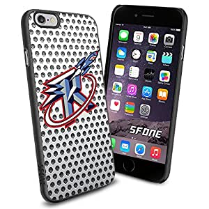 Houston Rockets Logo Net iPhone 6 4.7 inch Case Black Rubber Cover Protector