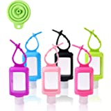 60ml Empty Travel Bottles with Clips 6pcs Portable Plastic Containers and Free Funnel Contain Hand Sanitiser Quickly for…