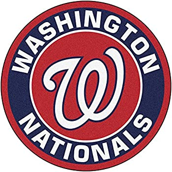 Amazon Com Mlb Washington Nationals Rounded Non Skid Mat
