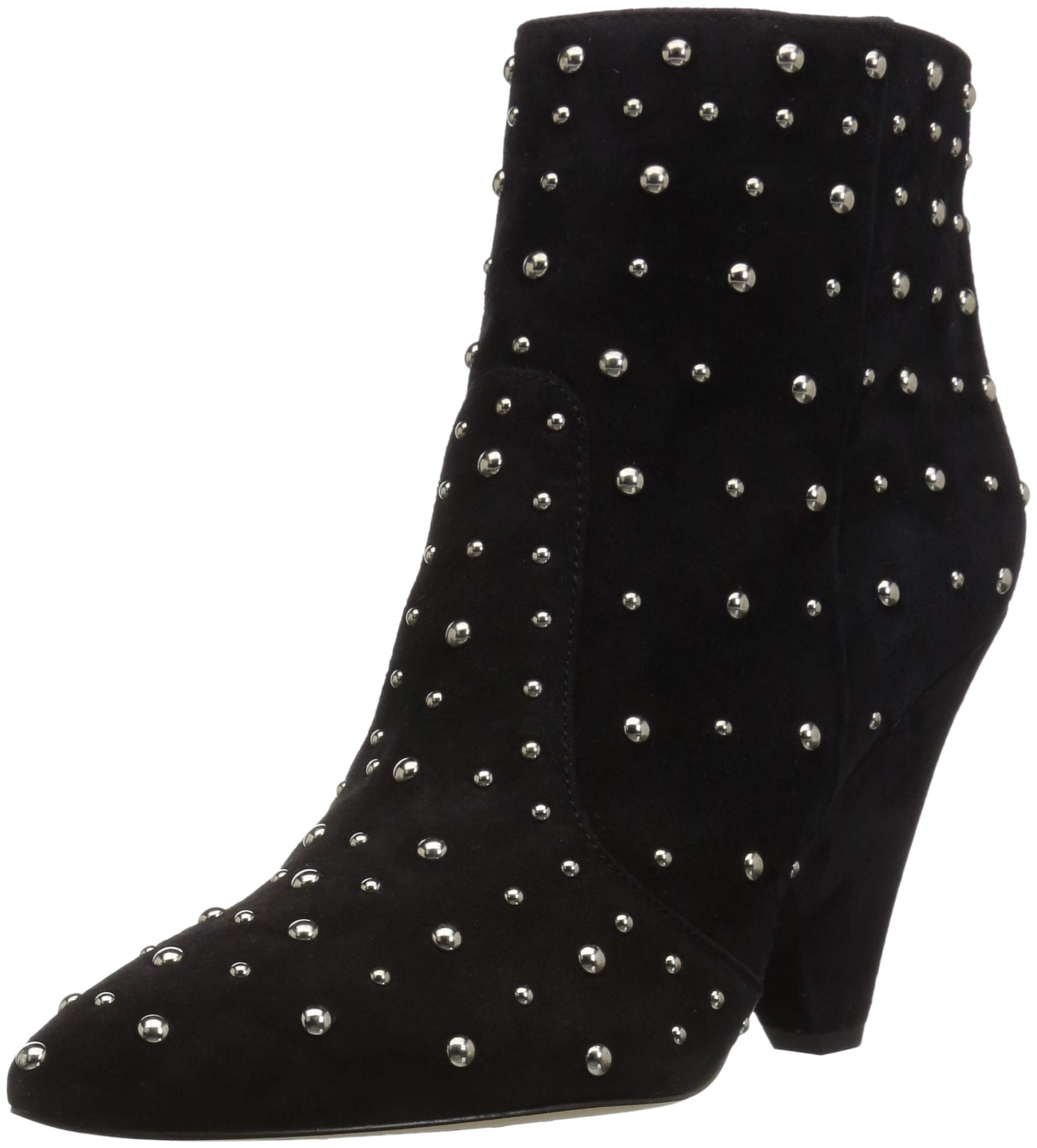 Sam Edelman Women's Roya Fashion Boot, Black Suede, 8.5 M US by Sam Edelman