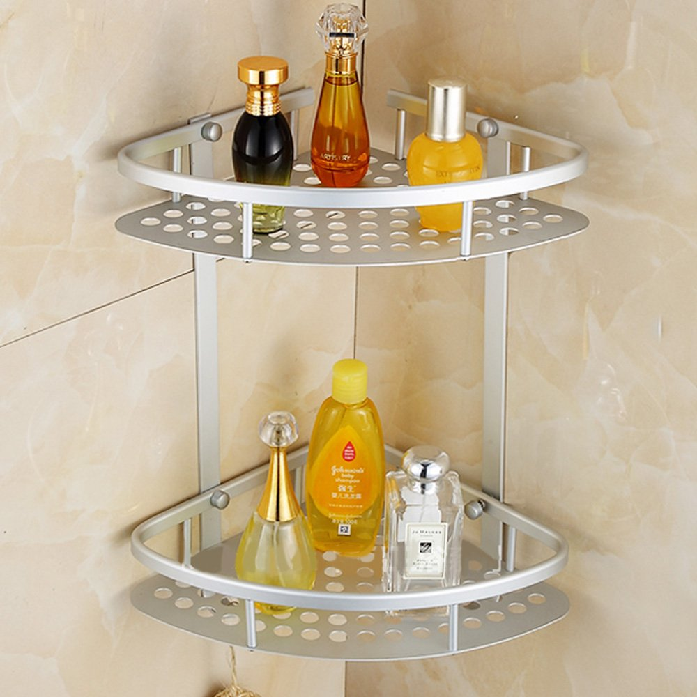 MultiWare Shower Caddy Shelf Shampoo Basket Holder Bathroom Corner Storage OEM