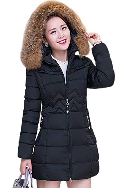 e3152b9f0 Anaisy Quilted Coat Ladies Elegant Long Large Size Jacket Quilted ...