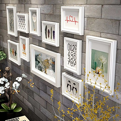 WUXK Photo wall frame wall a Wall Decorating Ideas living room wall photo frame wall photo frame combination 2 by WUXK