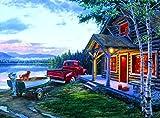 Buffalo Games Darrell Bush: Cabin Fever - 1000 Piece Jigsaw Puzzle by Buffalo Games