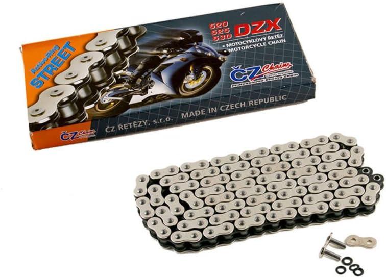 2006 2007 2008 Kawasaki Ninja 650 650R EX650 CZ DZX X Ring Chain 520-114