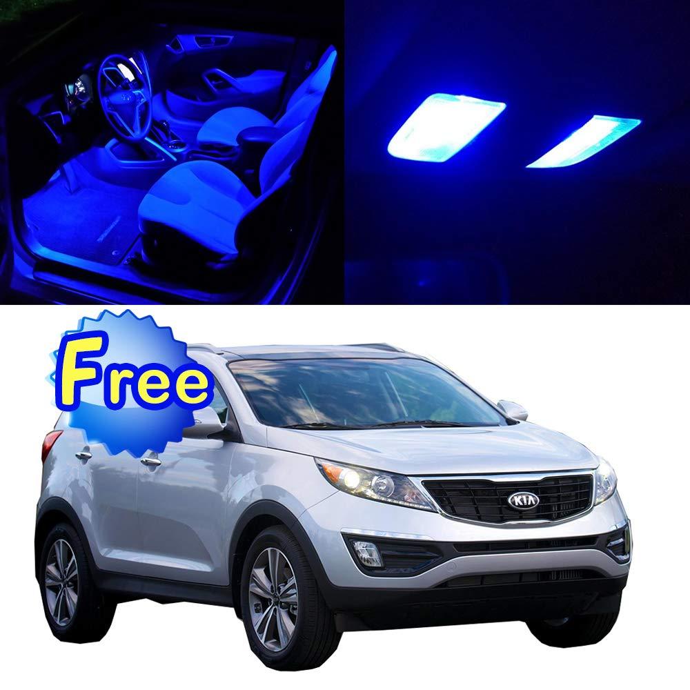 2017 Kia Sportage Accessories >> Amazon Com Scitoo Led Interior Lights 13pcs Blue Package