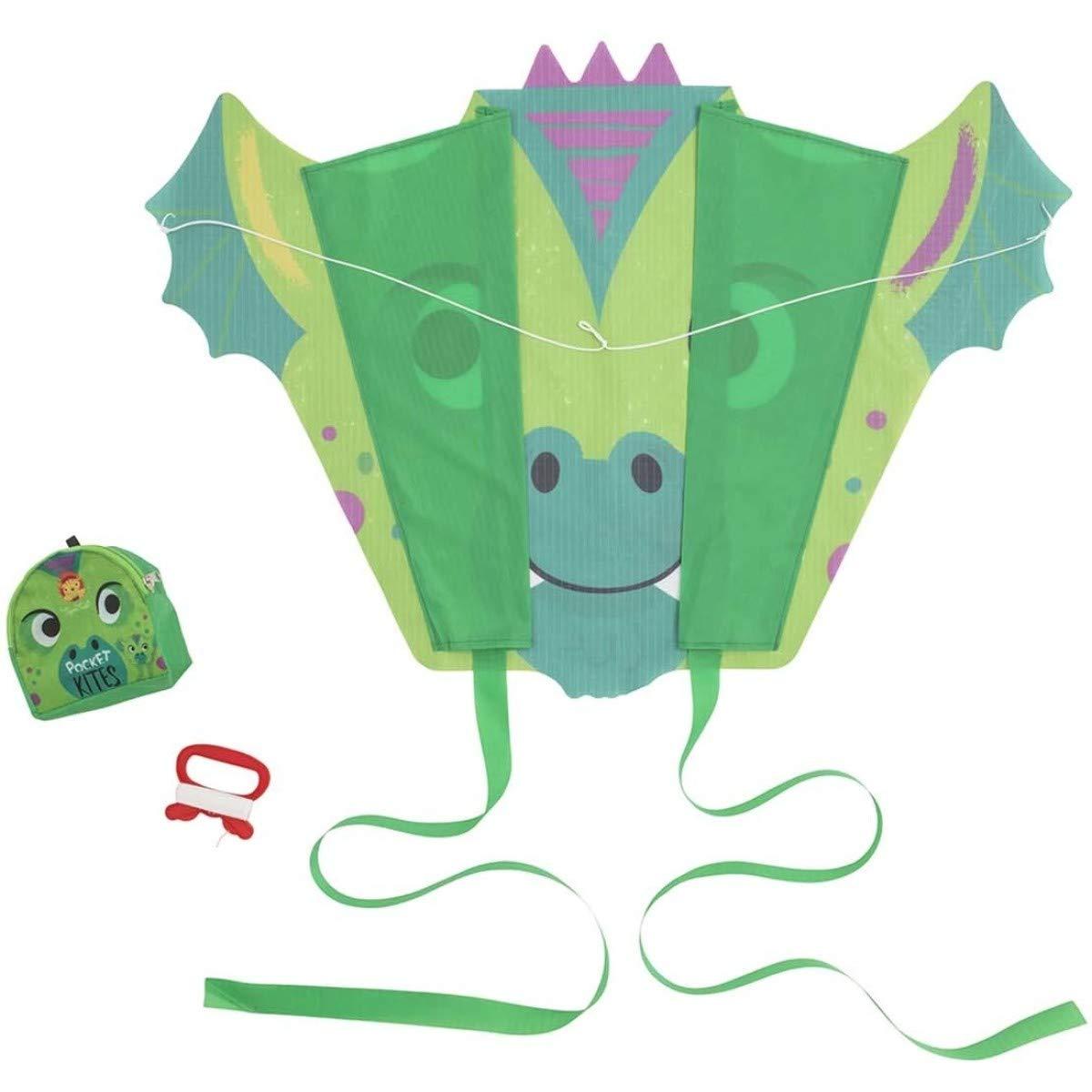 Bertoy 3750614 Juguetes de Actividad Pocket Kite//Dragons,