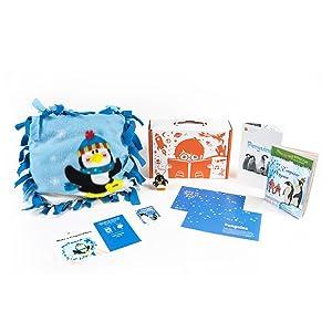 Surprise Ride DIY Crafts: Penguin Pillow, Beeswax Candles, Birdhouse