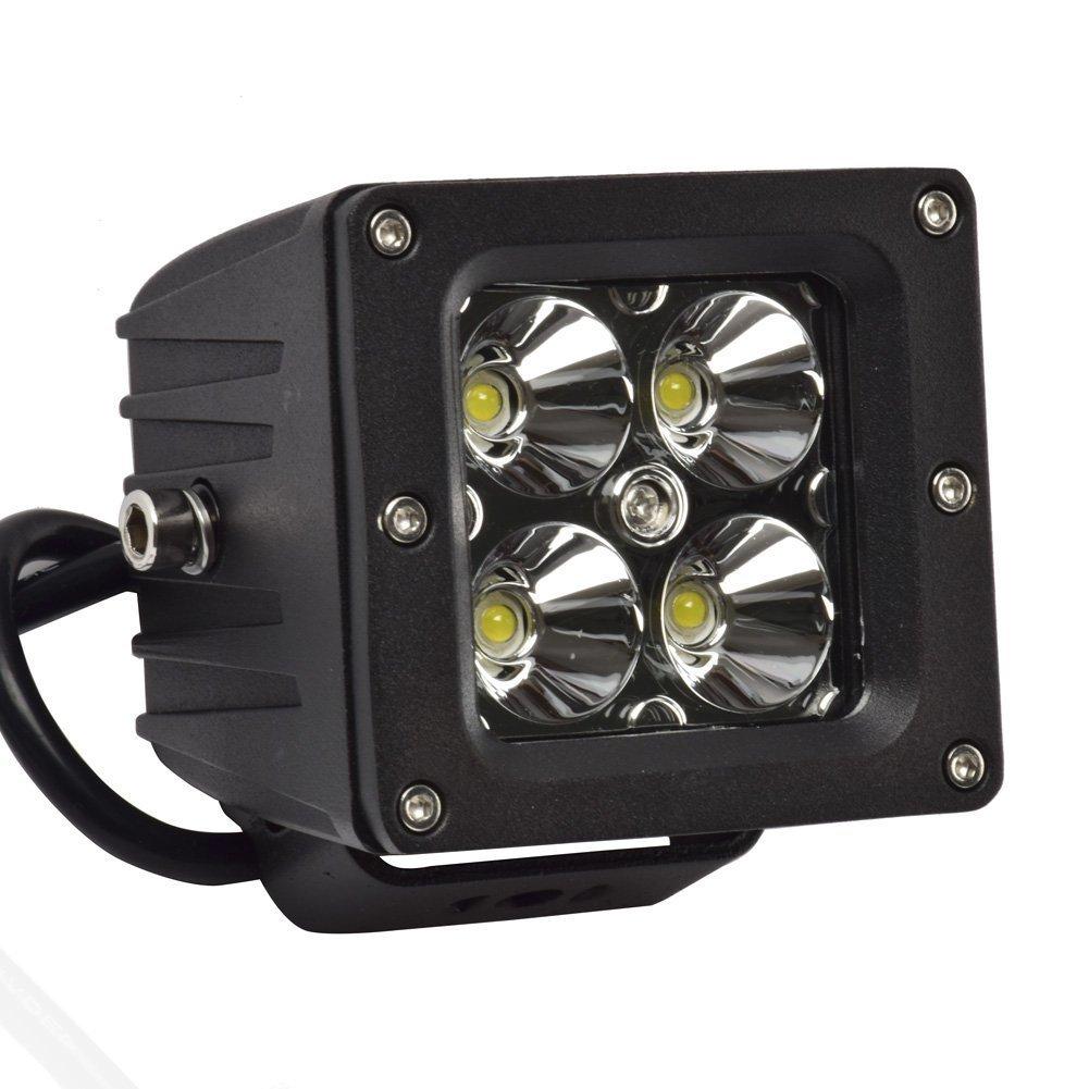 Eyourlife 1 PC 12V Luz de LED de Trabajo Faro Impermeable 18W Luz de LED de Conducci/ón LED Linterna para Coche Auto Moto 3.2 Pulgadas 20W LED Spot 4 SUV
