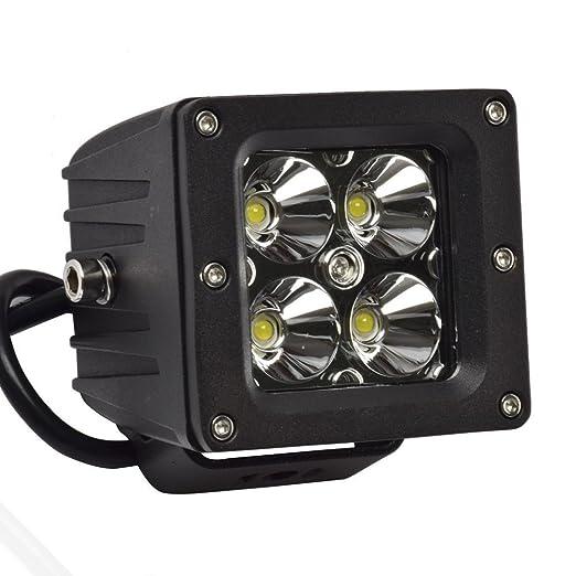 """8 opinioni per Eyourlife 3,2"""" 20W Spot Faro da Lavoro Luce di Profindita Faro Impermeabile LED"""