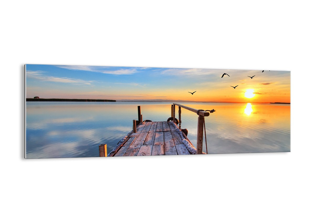 Glass Picture - Glass Print - 1 part - Width: 90cm, Height: 30cm (Width 35,4, Height 11,8) - photo no. 2402 - Ready to Hang - wall art print - Picture on glass - Image printed on glass - art on glass - Art print Images - GAB90x30-2402 4 ARTTOR