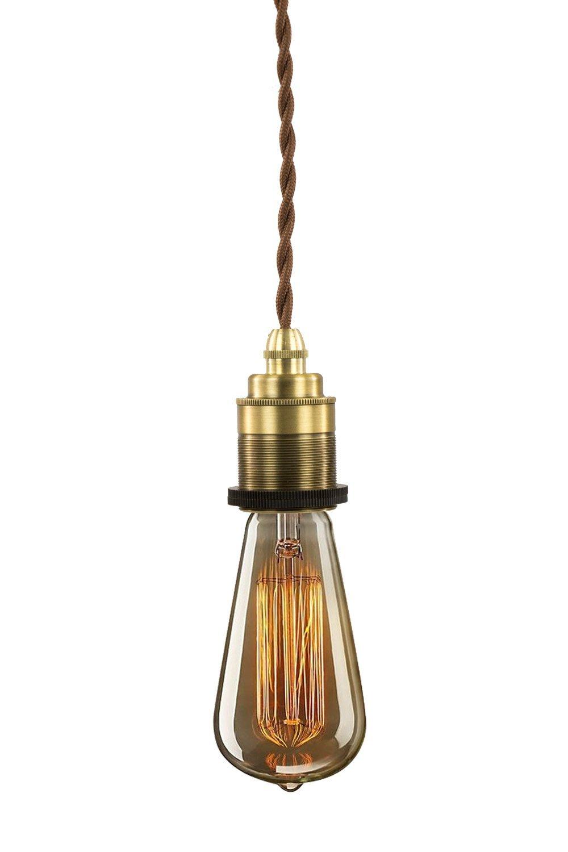Faszinierend Hängelampe Glühbirne Das Beste Von Purelume™ Retro Pendelleuchte Vintage Textilkabel Hängelampe (e27