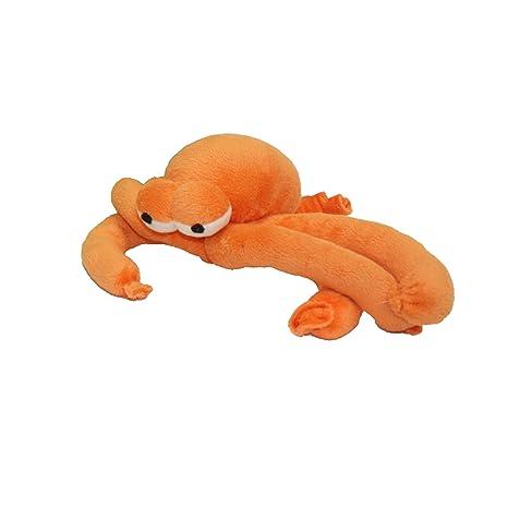 Pet Supplies Multipet Plush Balloon Animal Squid Orange Dog Toy