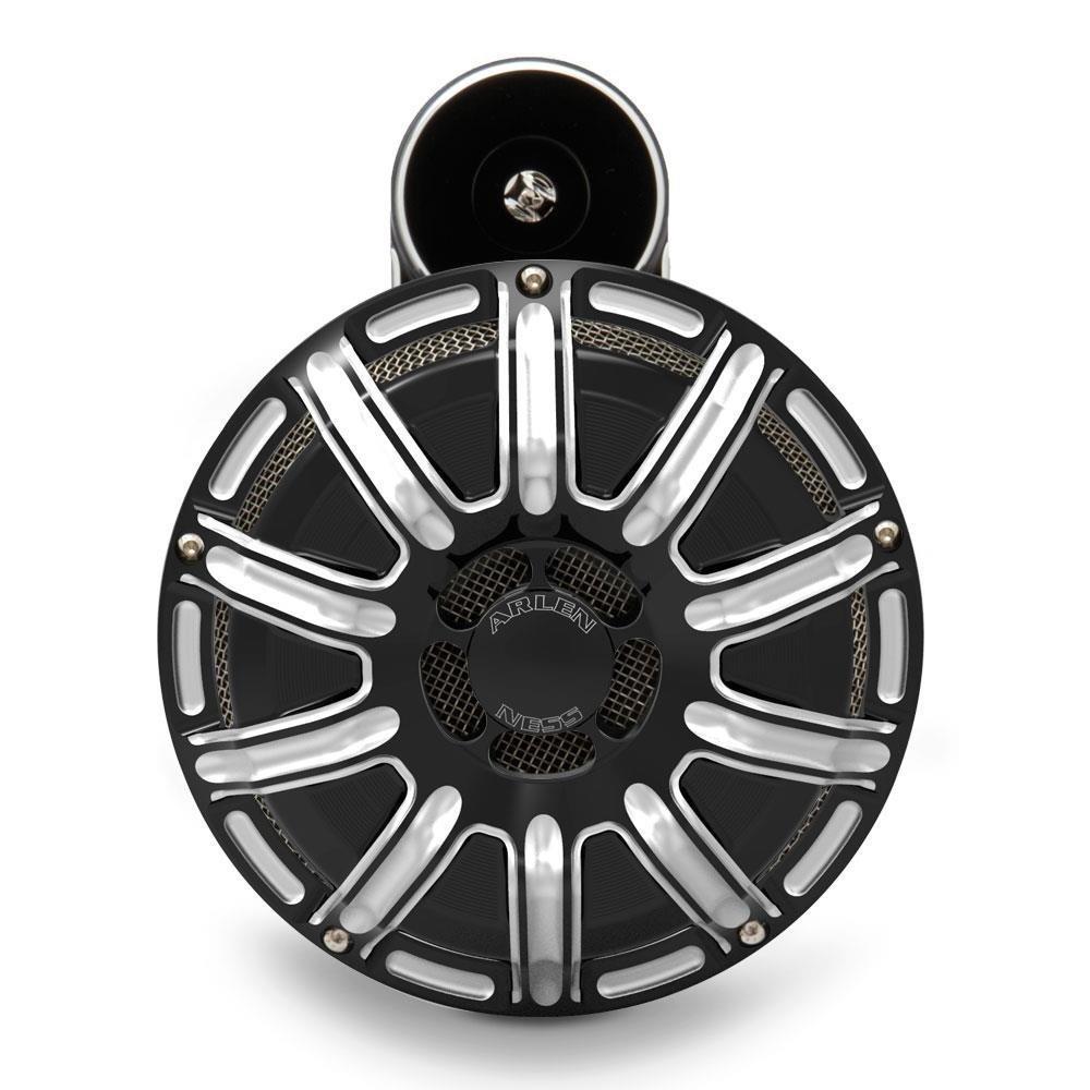 Arlen Ness 70-254 Black 10 Gauge Billet Horn Kit by Arlen Ness