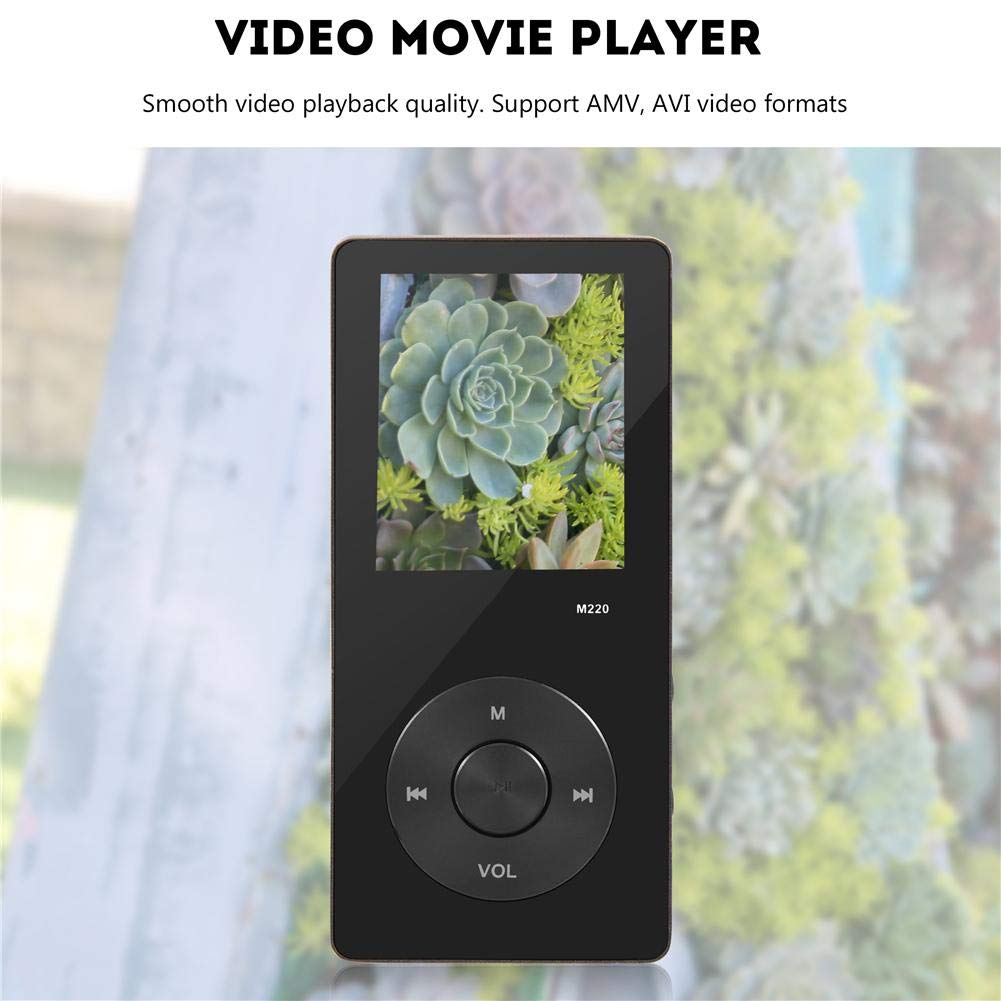 Ciglow MP3 MP4 Player 8GB with FM Radio, Portable Music Video Player with 1.8 Inch Color Screen by Ciglow (Image #2)