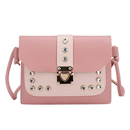 2498cc15db88 Image Unavailable. Image not available for. Color  Clearance Sale ! Women  Crossbody Bag Leather ...