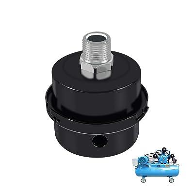 Air Compressor Silencer Muffler 20mm Intake Air Filter Pump Replacement Parts Ao