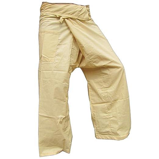 6 opinioni per Panasiam- Pantaloni thai da pescatore, un classico, qui in XL (da 1,80 m di