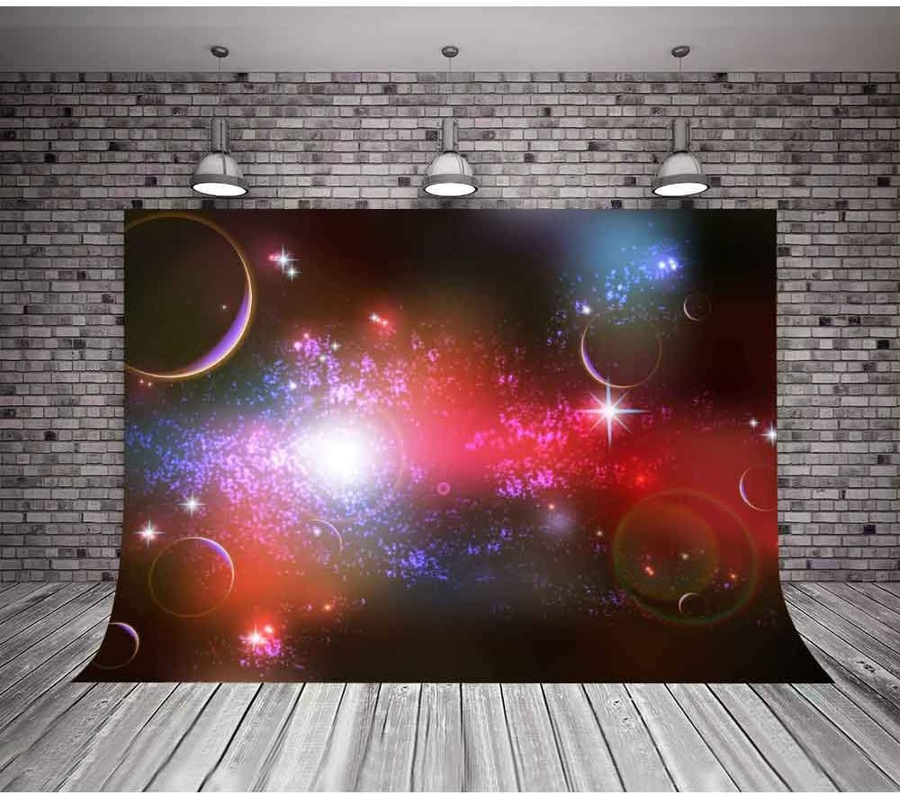 MTMETY 10x10ft Fantasy Universe Sky Galaxy Background Children Birthday Party Photography Background Photo Boot Studio LXME991