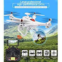Hanbaili X183 Drone with 170°Wide-angle 5.8Ghz WIFI Camera and GPS Return Home,A Key Set High GPS Voyage Function GPS Automatically Follow RC Drone with Headless Mode for Kids