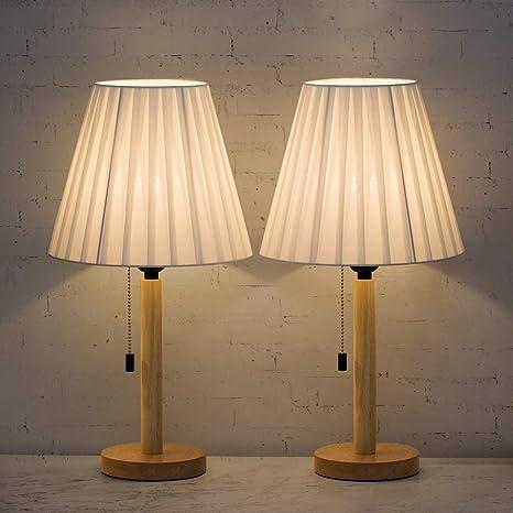 2x Table Light Shade Standard Lampshade Lighting Fixture for Study Bedroom Desk