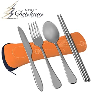 Atc Vicbay 4-Piece Stainless Steel Flatware Set