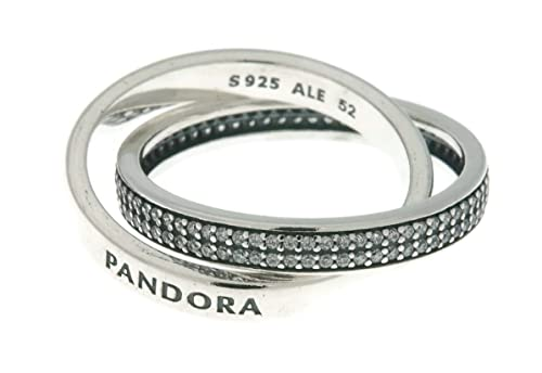 b65b8bfe5 Image Unavailable. Image not available for. Color: PANDORA Sweet Promise  Ring, Pink CZ 196546PCZ-50 ...