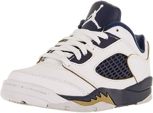 Nike Jordan 5 Retro Low (PS), Zapatillas de Baloncesto para Niños ...