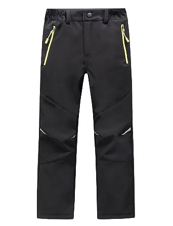 b46432a34d05 Amazon.com  LANBAOSI Kids Boys Girls Waterproof Outdoor Hiking Pants ...