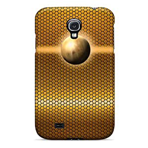 Case Cover Gold Planet/ Fashionable Case For Galaxy S4