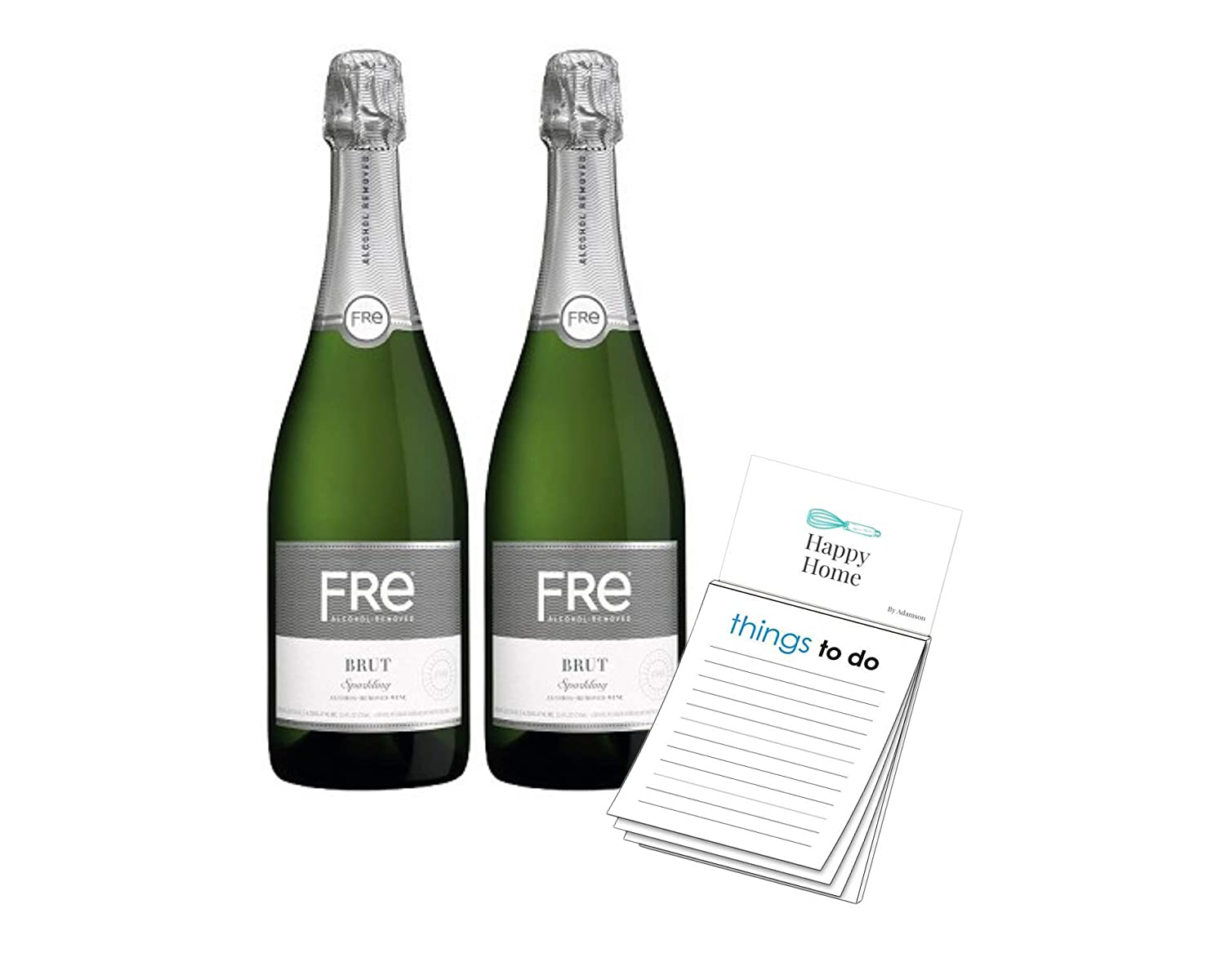 Sutter Home Fre Brut Non-alcoholic Champagne Wine (2 pack)