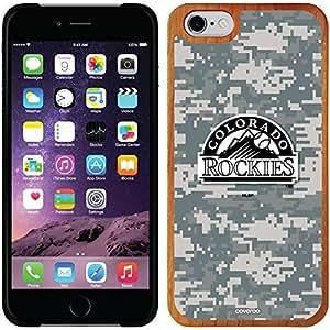 fashion case iphone 5c Madera Wood Thinshield Case with Colorado Rockies Digi Camo Rockies Design