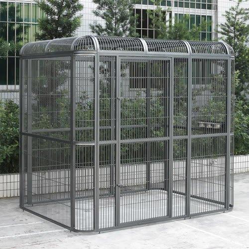 outdoor aviary - 5