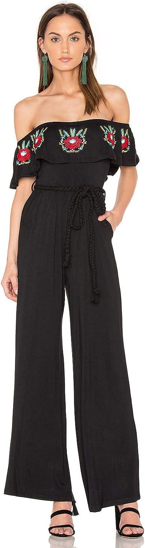 -CVD1547 Black VAVA by Joy Han Womens Rosabel Jumpsuit
