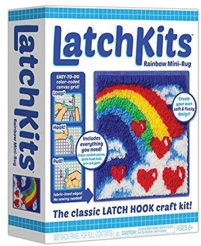 Kahootz Latch Rainbow Mini Rug Sewing product image