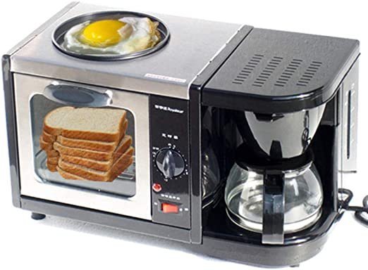 FUHUANGYB 220V Breakfast Makers Sartén Tostadora Horno Cafetera ...