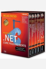 MCAD/MCSD Self-Paced Training Kit: Microsoft (2nd Edition) .NET Core Requirements, Exams 70-305, 70-315, 70-306, 70-316, 70-310, 70-320, and 70-300 box vol. set Paperback